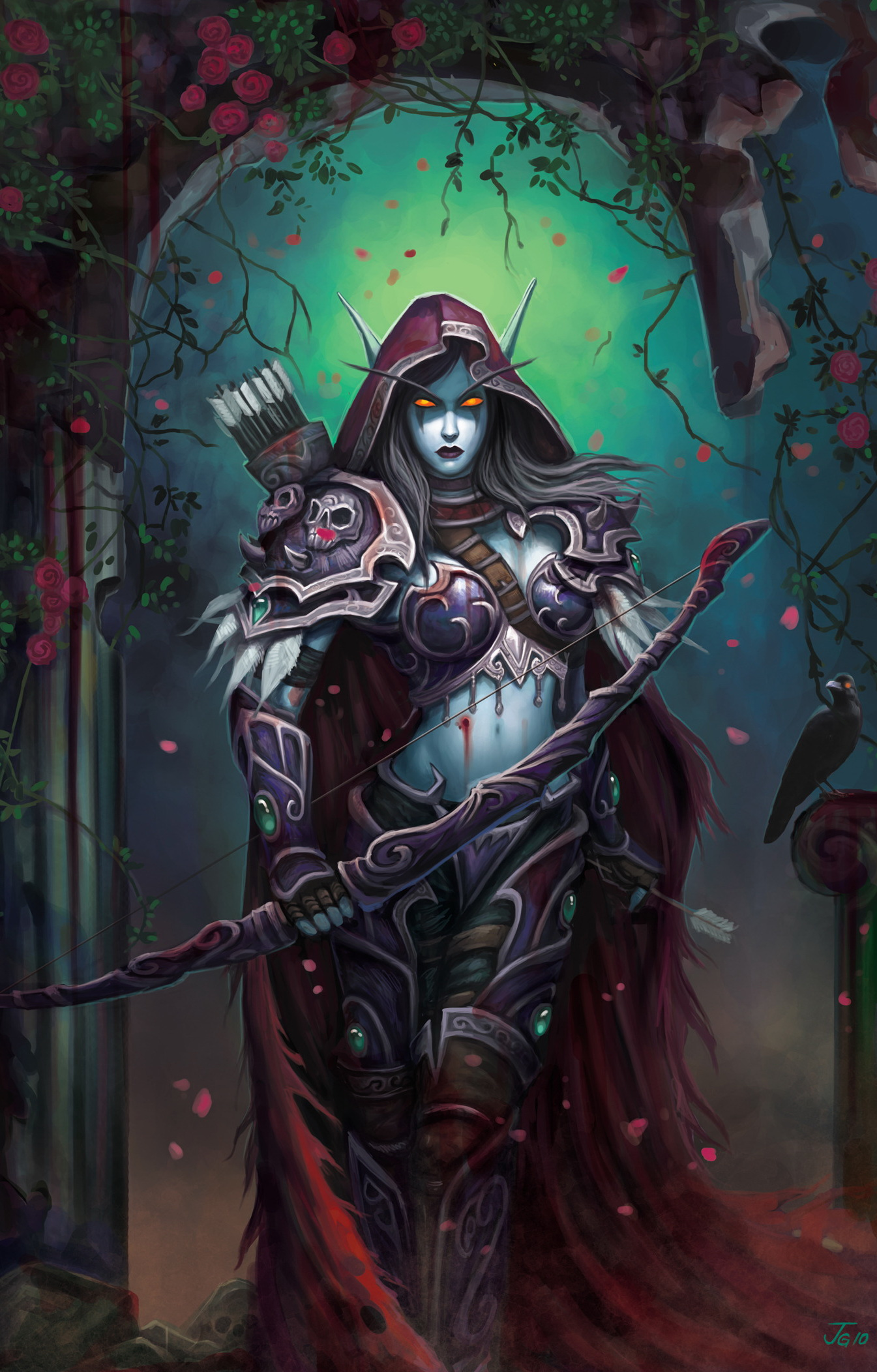 Sylvanaswindrunner nude sexy photo